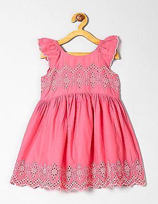 GAP Toddler Girl Eyelet Flutter Dress