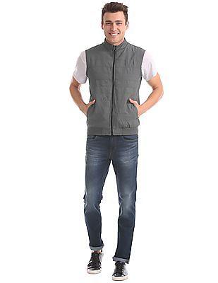 Arrow Sports Regular Fit Reversible Jacket
