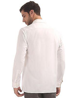 Arvind Regular Fit French Placket Shirt