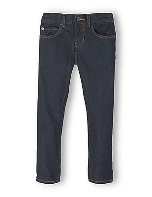 The Children's Place Boys Super Skinny Jeans- Dark Wear