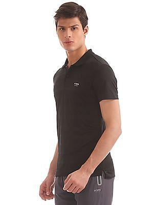 USPA Active Tonal Stripe Active Polo Shirt