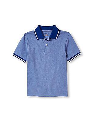 The Children's Place Boys Short Sleeve Pique Polo