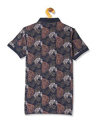 FM Boys Boys Printed Polo Shirt