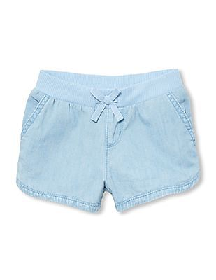 The Children's Place Toddler Girl Elasticized Waist Shorts
