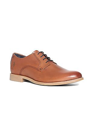 U.S. Polo Assn. Leather Lace Up Shoes