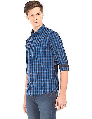 Ruggers Long Sleeve Tonal Check Shirt
