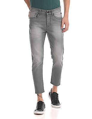 Flying Machine Mankle Tapered Fit Mid Rise Jeans