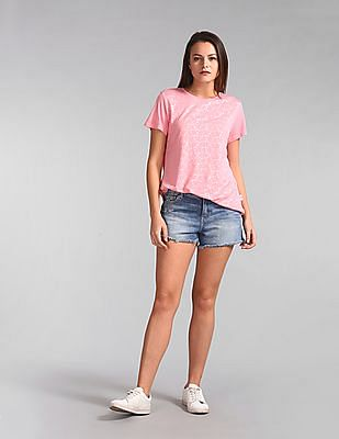 GAP All Over Foil Print Knit Tee