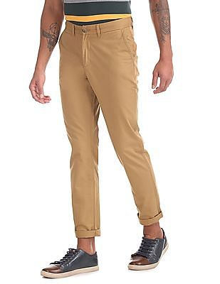 Ruf & Tuf Slim Fit Flat Front Chinos