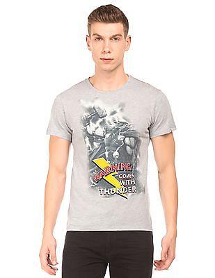 Colt Thor Print Round Neck T-Shirt
