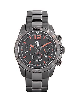 U.S. Polo Assn. Stainless Steel Chronograph Watch