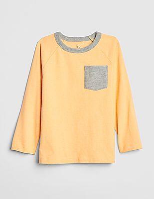 GAP Baby Pocket Long Sleeve T-Shirt