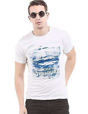 Cherokee Slim Fit Printed T-Shirt