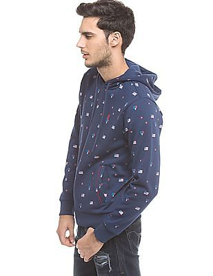 Izod Slim Fit Hooded Sweatshirt