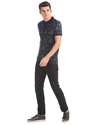 Ed Hardy Slim Fit Button Down Polo Shirt