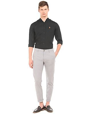 U.S. Polo Assn. Denim Co. Slim Fit Linen Shirt