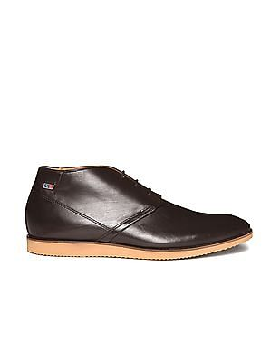 Arrow Sports Mid Ankle Leather Derby Shoes
