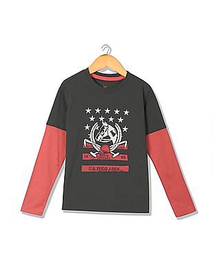 b8fec447 Buy Boys Boys Graphic Print T-Shirt online at NNNOW.com