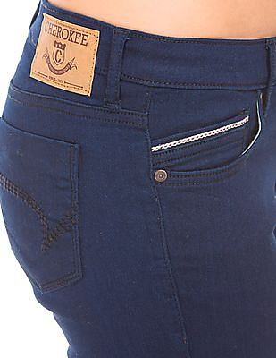 Cherokee Washed Slim Fit Jeans