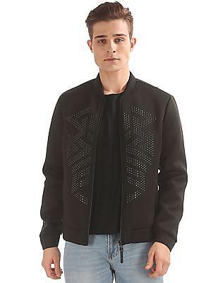 Ed Hardy Embellished Bomber Jacket
