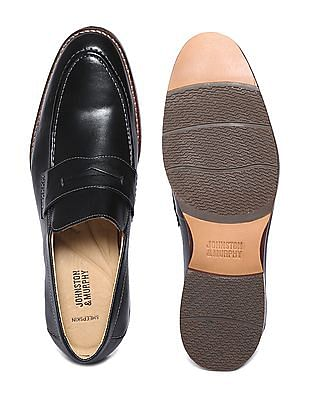 Johnston & Murphy Leather Penny Loafers