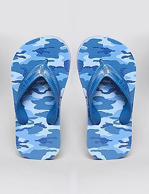 GAP Boys Camo Printed Flip Flops