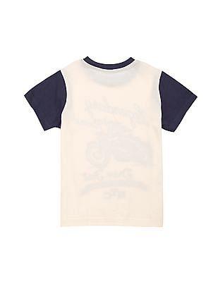 Cherokee Boys Round Neck Printed T-Shirt