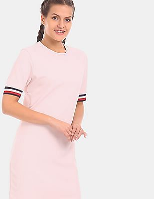 tommy hilfiger pink dress