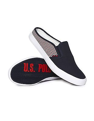 U.S. Polo Assn. Low Top Striped Slip On Shoes