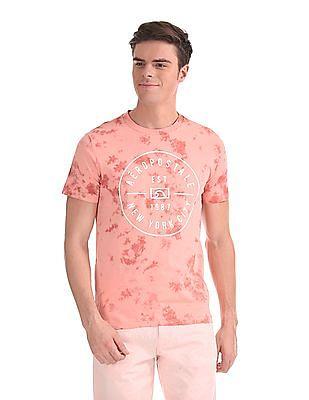 e4bed39cf249 Buy Men AE1002552876 Black/g Or C Melange /p Pink Mens T-Shirt ...