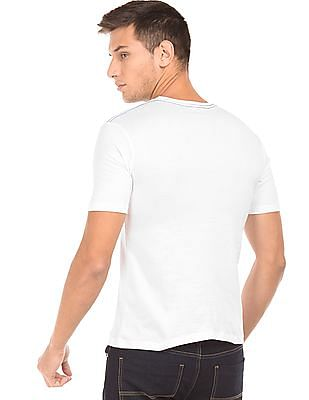 Ruggers Solid Cotton T-Shirt - Pack of 3
