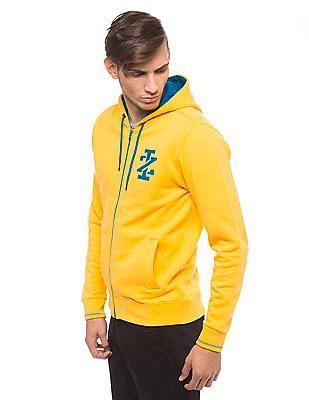 Izod Hooded Zip Up Sweatshirt