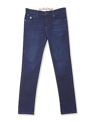 U.S. Polo Assn. Kids Boys Skinny Fit Dark Wash Jeans
