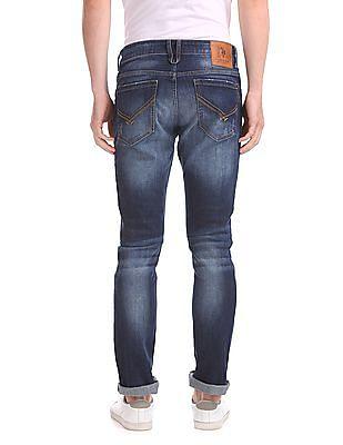 U.S. Polo Assn. Denim Co. Slim Straight Fit Dark Wash Jeans
