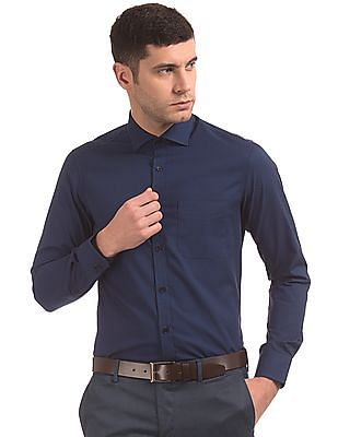 USPA Tailored Cutaway Collar Tailored Fit Shirt