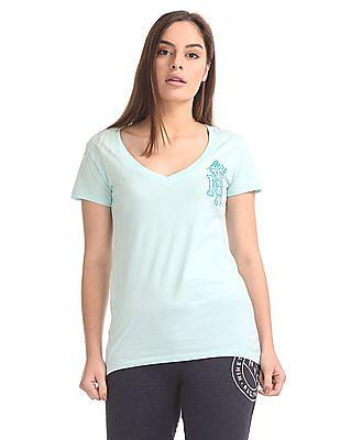Aeropostale Short Sleeve V-Neck T-Shirt