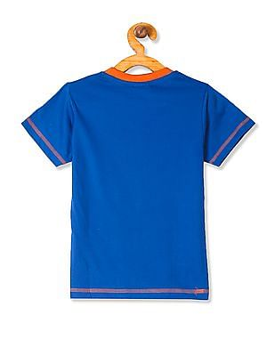 Day 2 Day Boys Short Sleeve Little Krishna Print T-Shirt