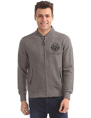 U.S. Polo Assn. Denim Co. Regular Fit Zip Up Sweatshirt