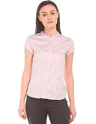 Arrow Woman Princess Panel Concealed Placket Shirt