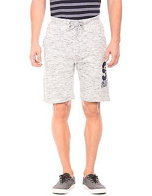 Izod Heathered Knit Shorts