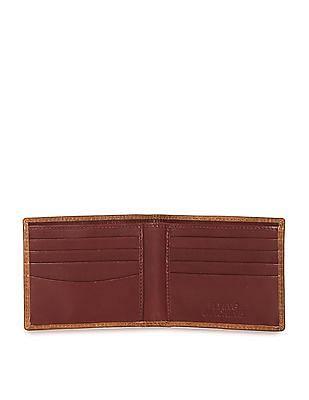 Flying Machine Bi Fold Leather Wallet