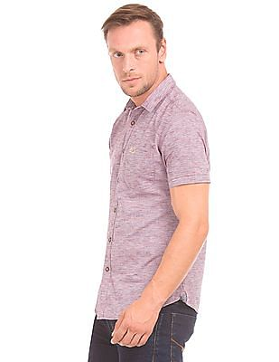U.S. Polo Assn. Denim Co. Short Sleeve Striped Shirt