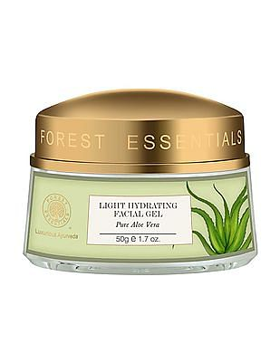 FOREST ESSENTIALS Light Hydrating Moisturising Facial Gel With Pure Aloe Vera - Oily Skin