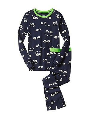 GAP Boys Blue Glow In The Dark Sleep Set