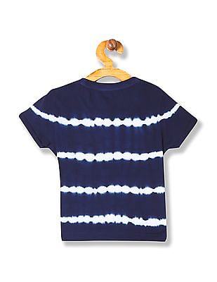 U.S. Polo Assn. Kids Boys Crew Neck Striped T-Shirt