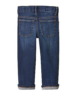 GAP Baby Blue 1969 Jersey Lined Straight Jeans