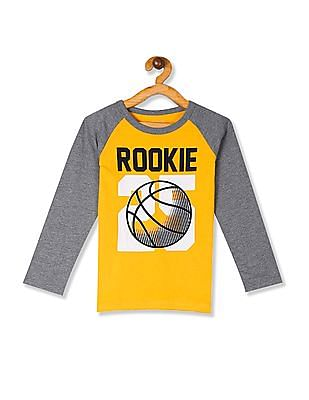 The Children's Place Baby And Toddler Boy Long Raglan Sleeve Graphic Top