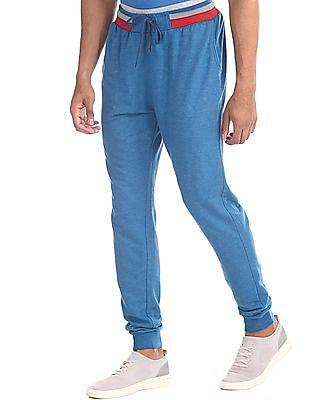 Colt Blue Heathered Knit Joggers