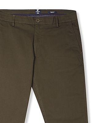 Ruggers Modern Slim Fit Patterned Trousers