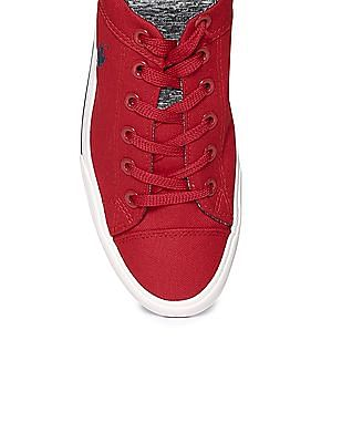 U.S. Polo Assn. Lace Up Canvas Sneakers